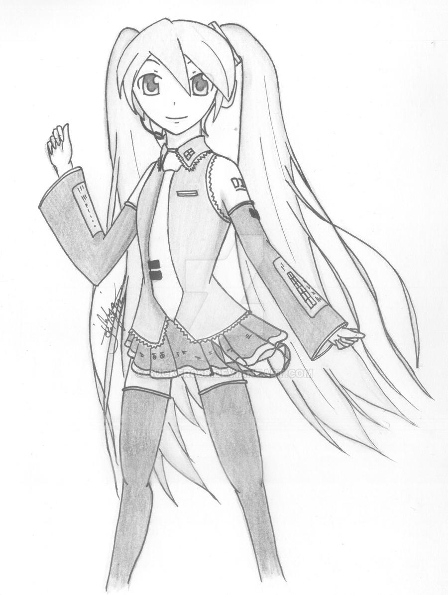 Hatsune Miku by sucker068