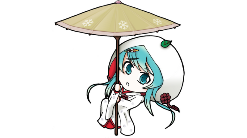 Snow Miku 2013 Chibi by sucker068
