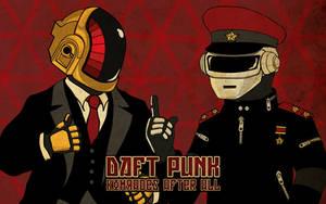 Daft Punk Propaganda Wallpaper by ediskrad-studios
