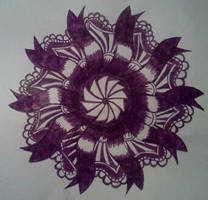 Zentangle Dare # 54 by staceysmile