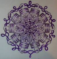 Zentangle dare #49 by staceysmile