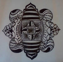 Zentangle dare #29 by staceysmile