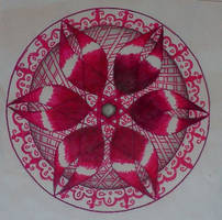Pink Zentangle 2 by staceysmile