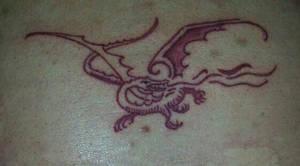 Smaug Tattoo