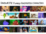 Favourite Funny Animated Characters