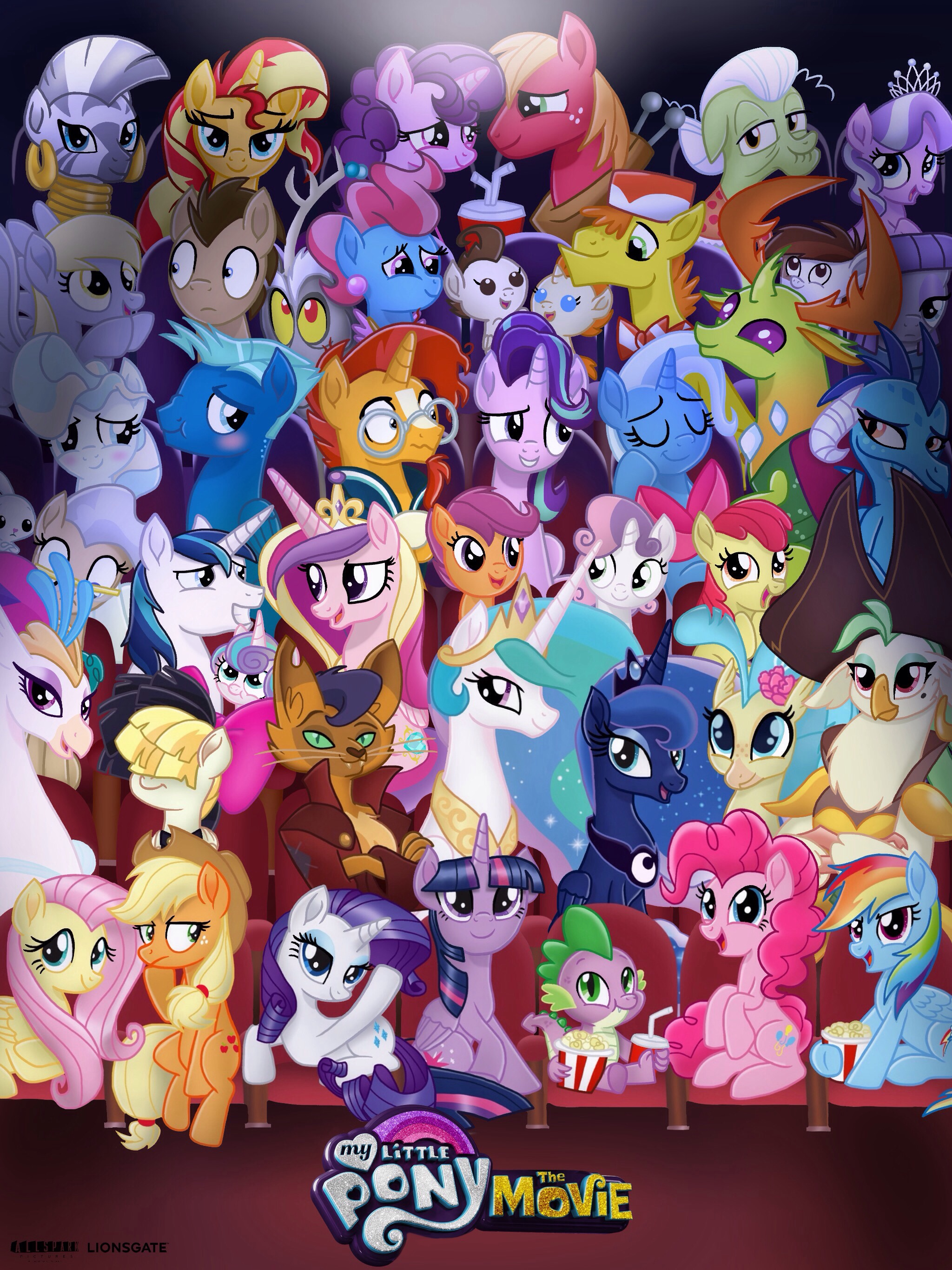 My Little Pony: the Movie (Fan Made Poster) by ...