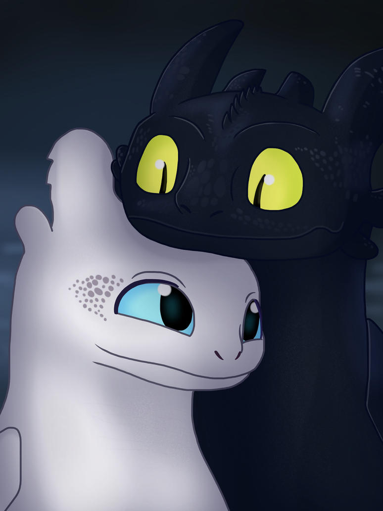 Cute Dragons by JustSomePainter11
