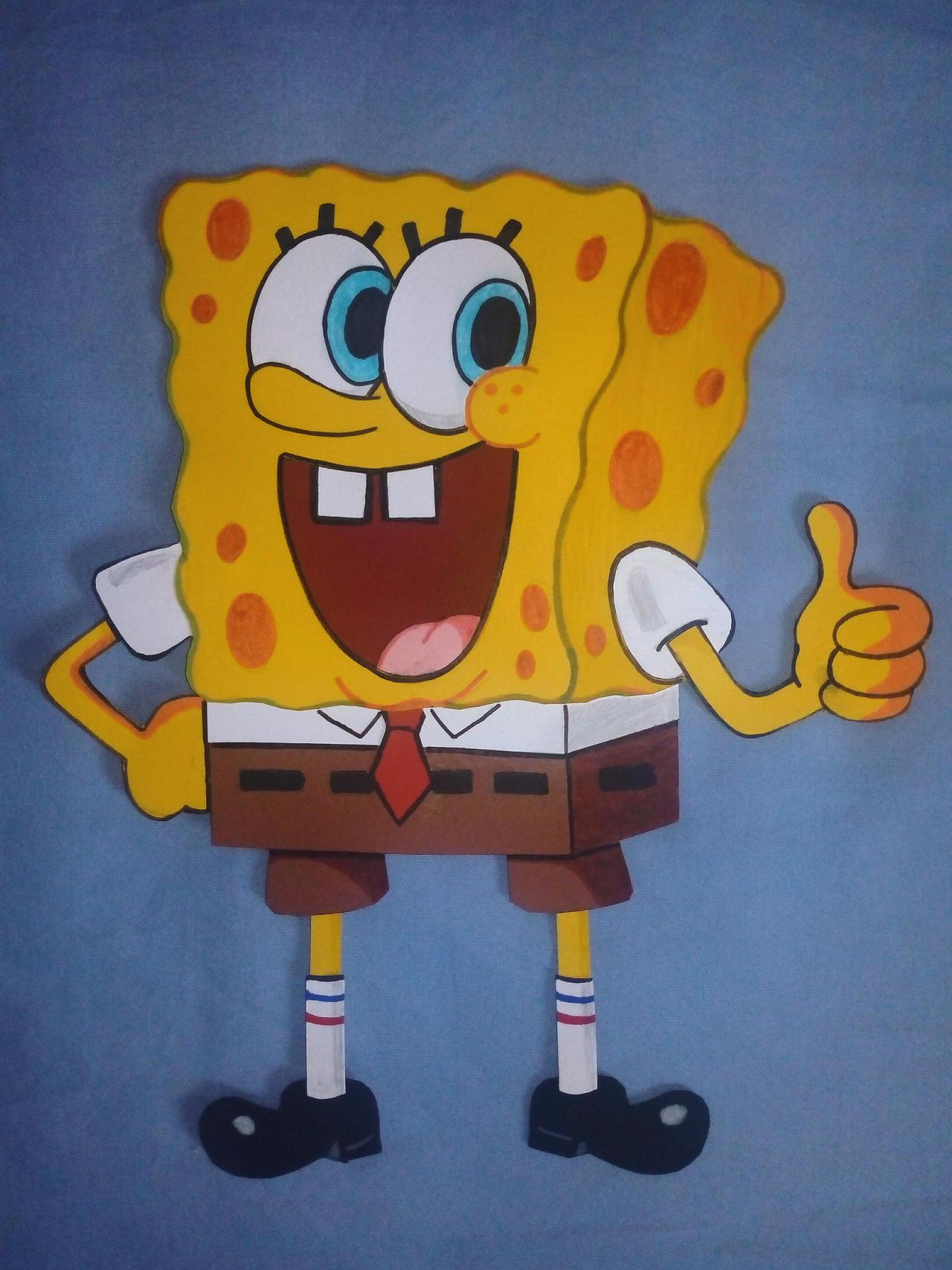 Paper Characters Spongebob Squarepants Movie By