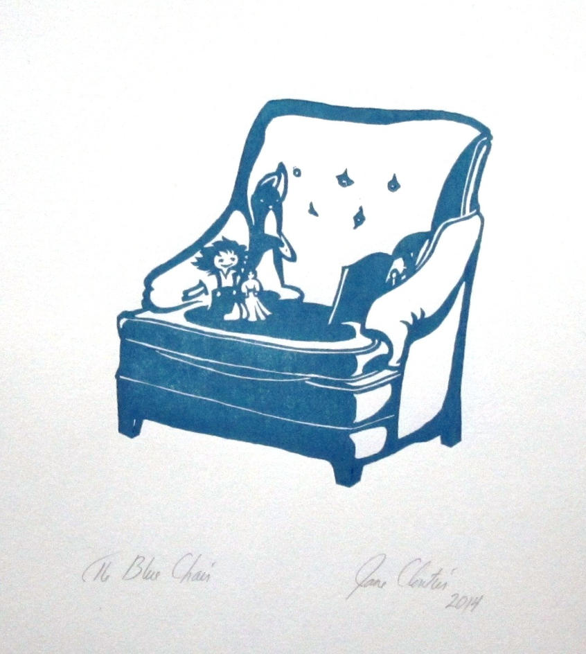 The Blue Chair by cloutierj