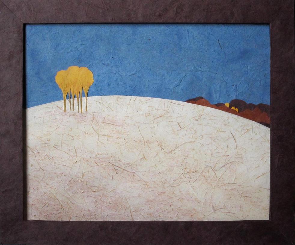 Autumn Hill - Poplars by cloutierj