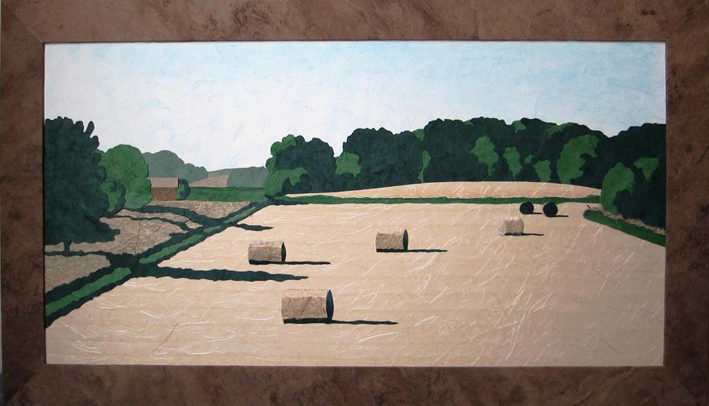 Field - Hay Bales by cloutierj