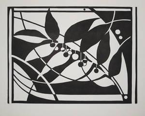 Solomon Seal - black and white