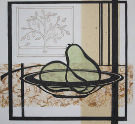 Pears in a Bowl 2 by cloutierj