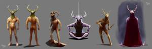 Horn-God concept