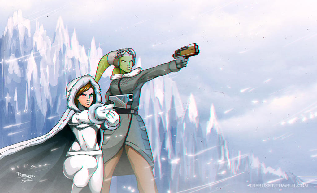 Hera and Sabine by Trebuxet on DeviantArt