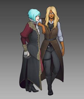 Myka and Laika