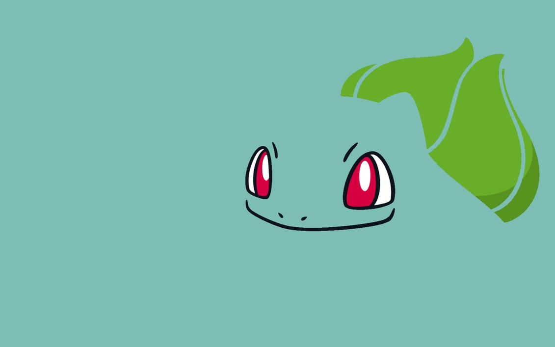 so i just made a bulbasaur wallpaper if you like it