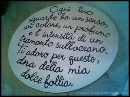 Dna della mia dolce follia by hopelessprincess