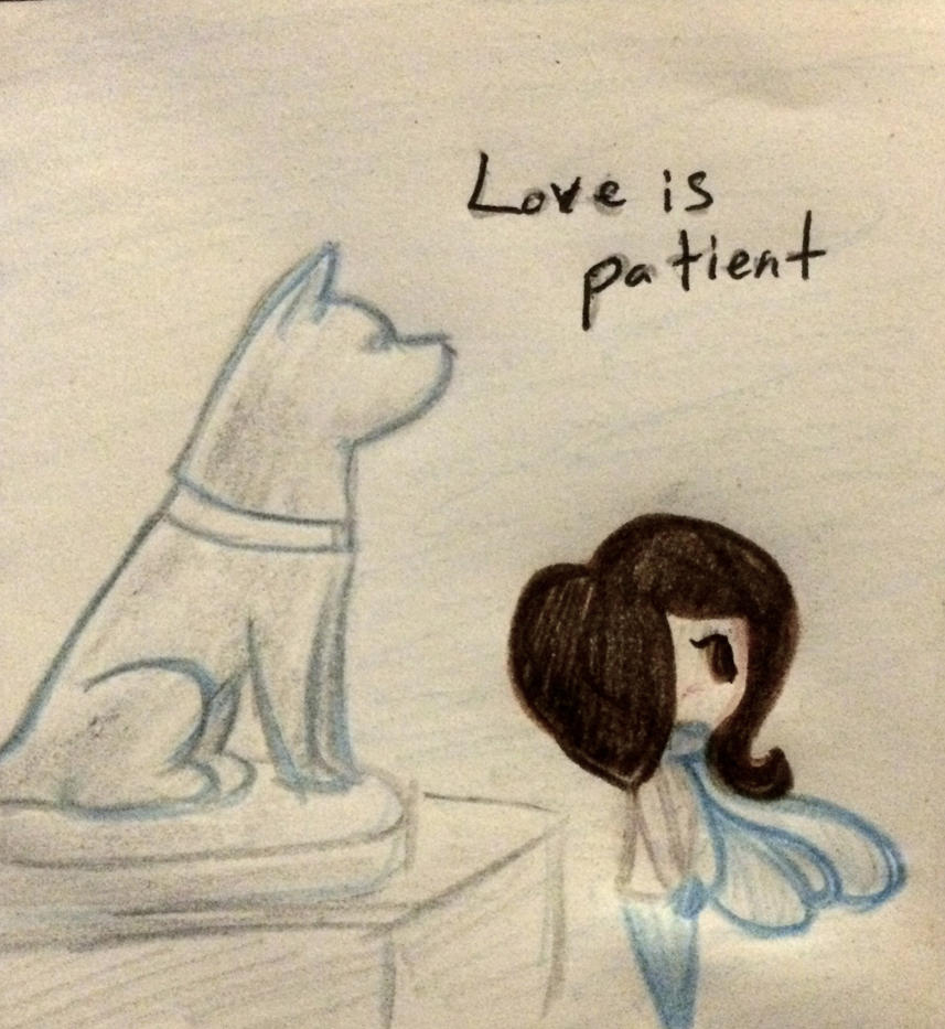 Love day 1: Love is patient by TheMidnightRainstorm