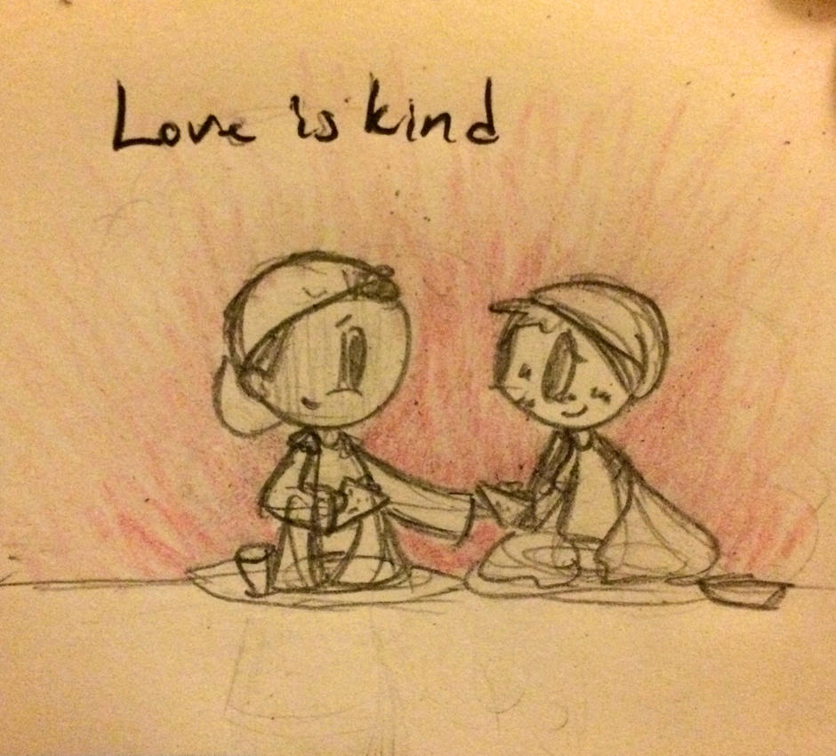 Love day 2: Love is kind by TheMidnightRainstorm
