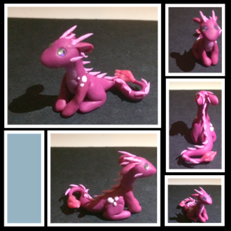 Little Pink Dragon by BeeTrue