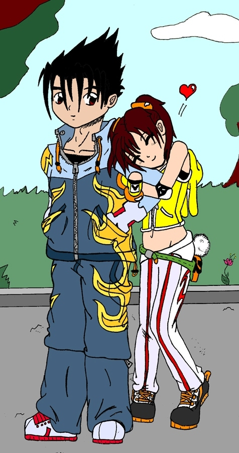 Jin and happy Xiaoyu by Tippy-The-Bunny