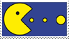 Pac Man Stamp by Tippy-The-Bunny