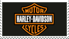 Harley Davidson Stamp 02 by Tippy-The-Bunny