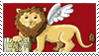 Chibi Venice Lion Stamp by Tippy-The-Bunny