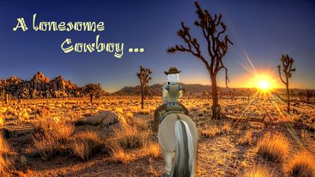 Lonesome Cowboy by Saiyoe