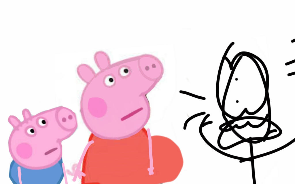 Peppa And George Cake Toppers