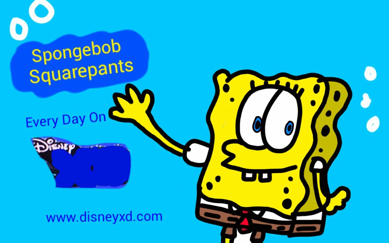 spongebob squarepants from disney xd by daddymcabee on deviantart