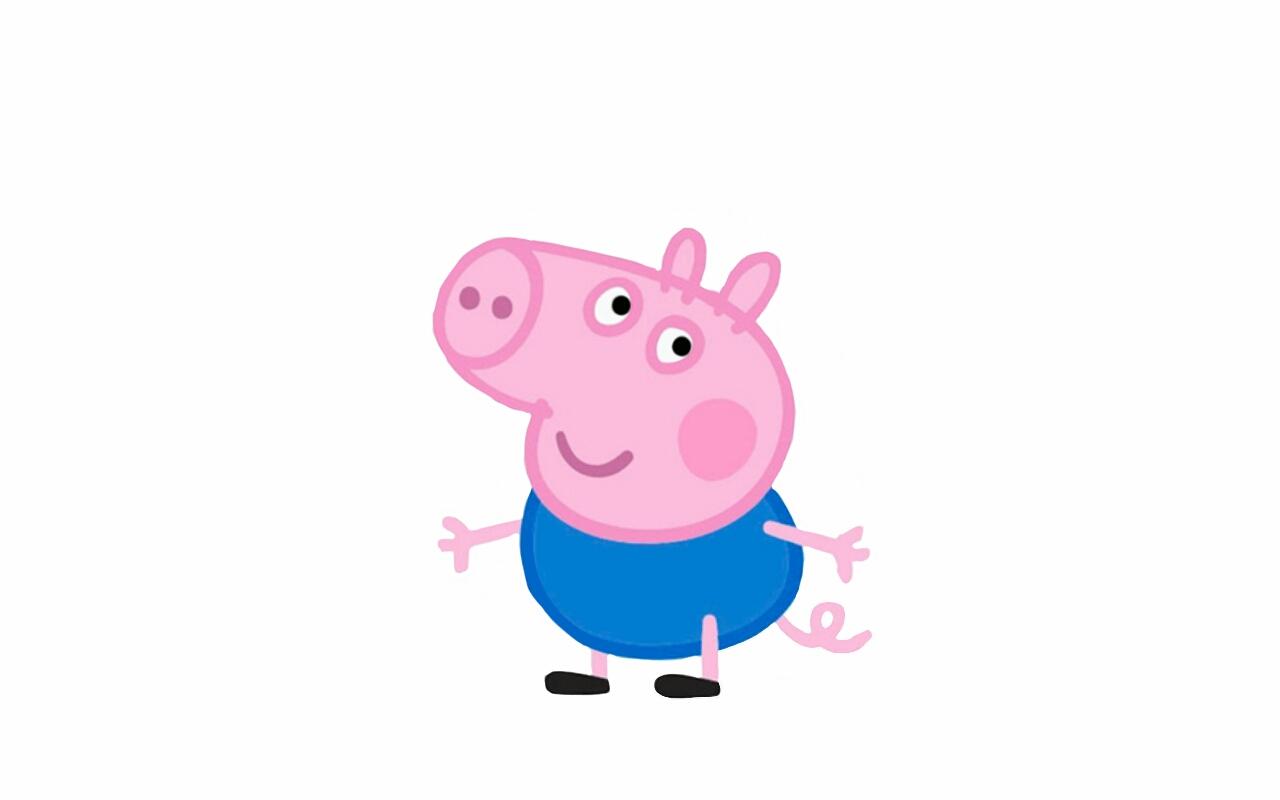 Peppa Pig George Cake Topper