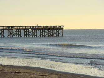 Morning Pier by Maxojir