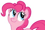Pinkie Pie looking at Dashie before she crashes