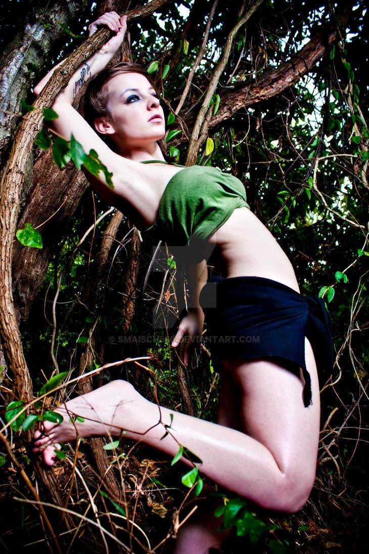 Women in jungle movies #7