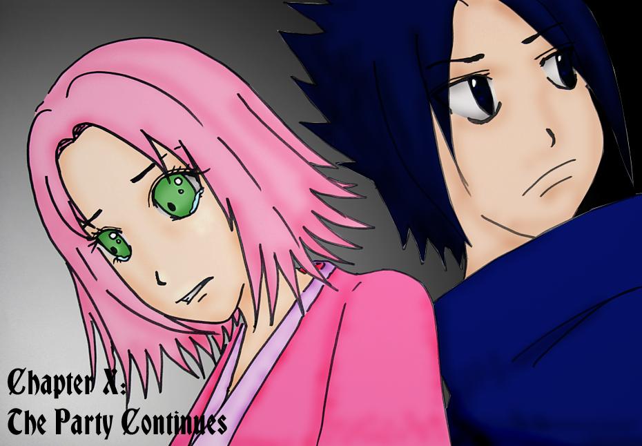 Naruto Ch X Sakura And Sasuke By Joycethemonster On Deviantart