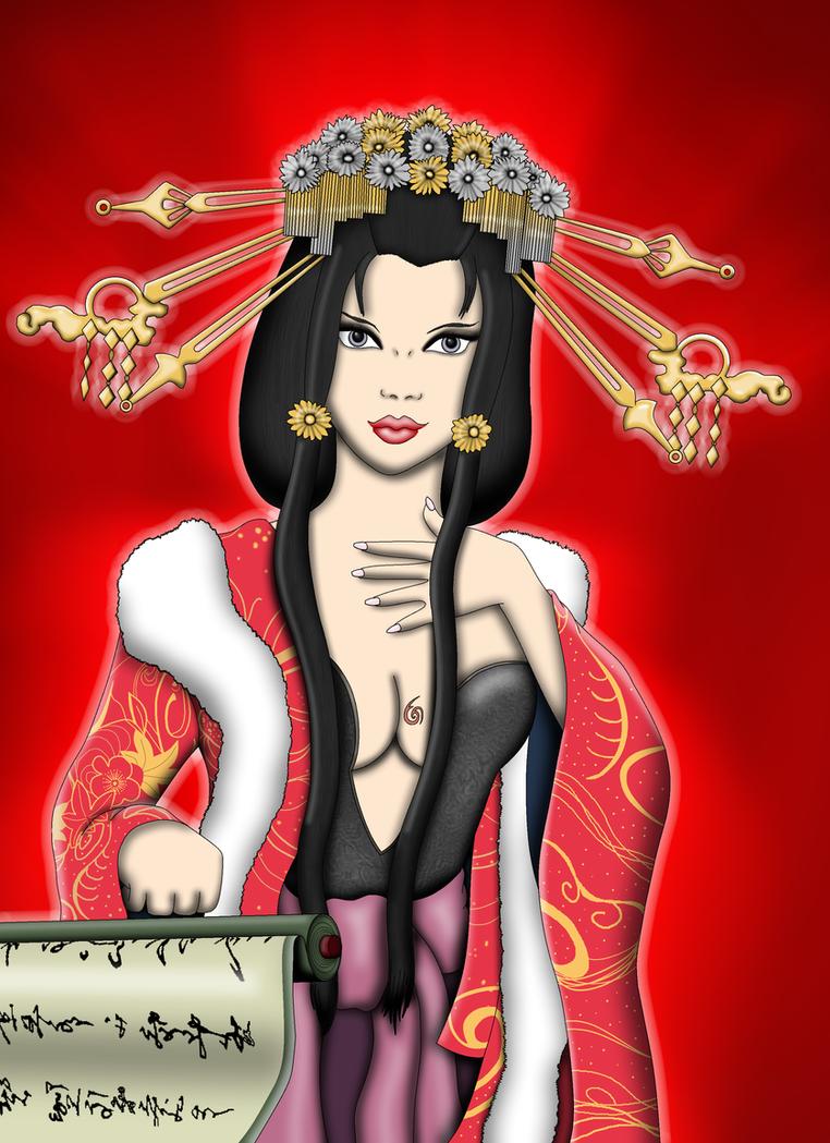 Tamamo No Mae by vampire-moon