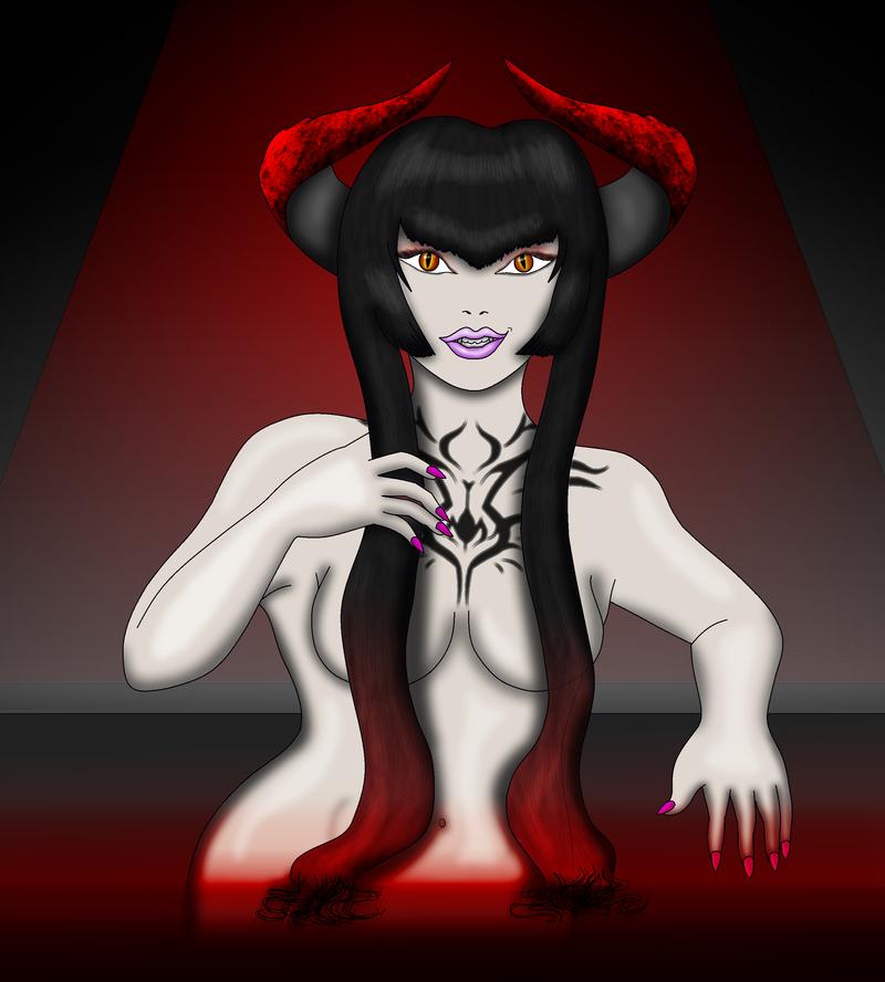 Eliza Bathes by vampire-moon