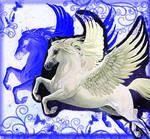 Pegasus flies two dimensions