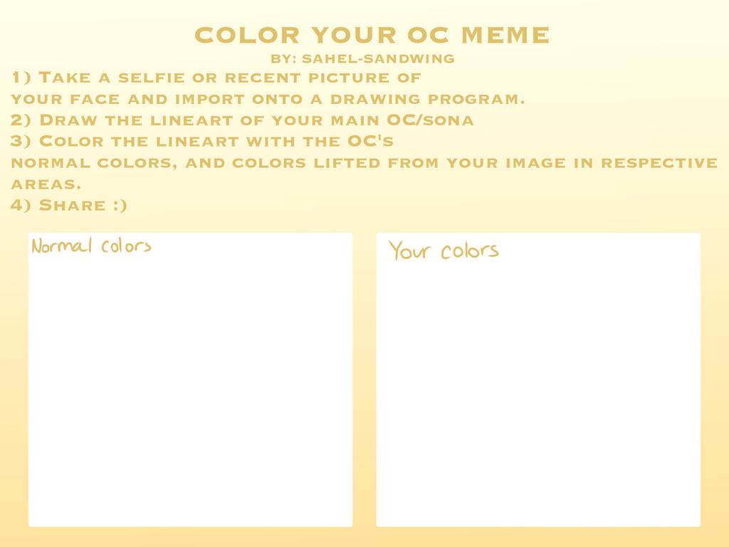 Oc meme template