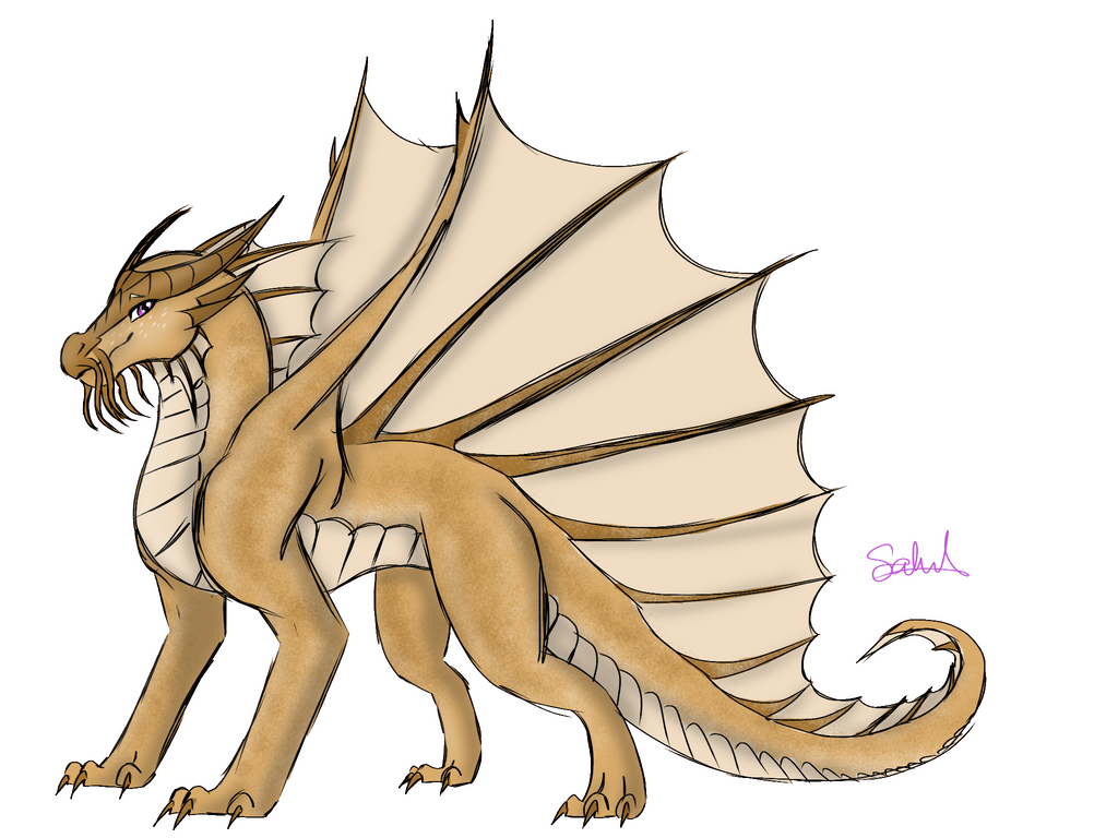 Gold Dragon Test by Sahel-SandWing