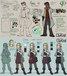 [1/2] Overcast Character Concepts