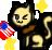 Comission: Neko America Icon by PrincessCelestia908