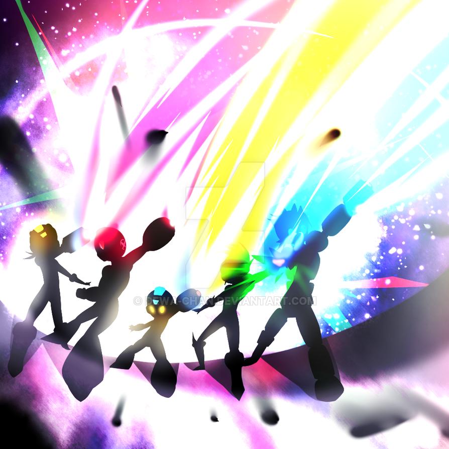 Super Smash Bros 4: Megaman Final Smash by PrincessCelestia908