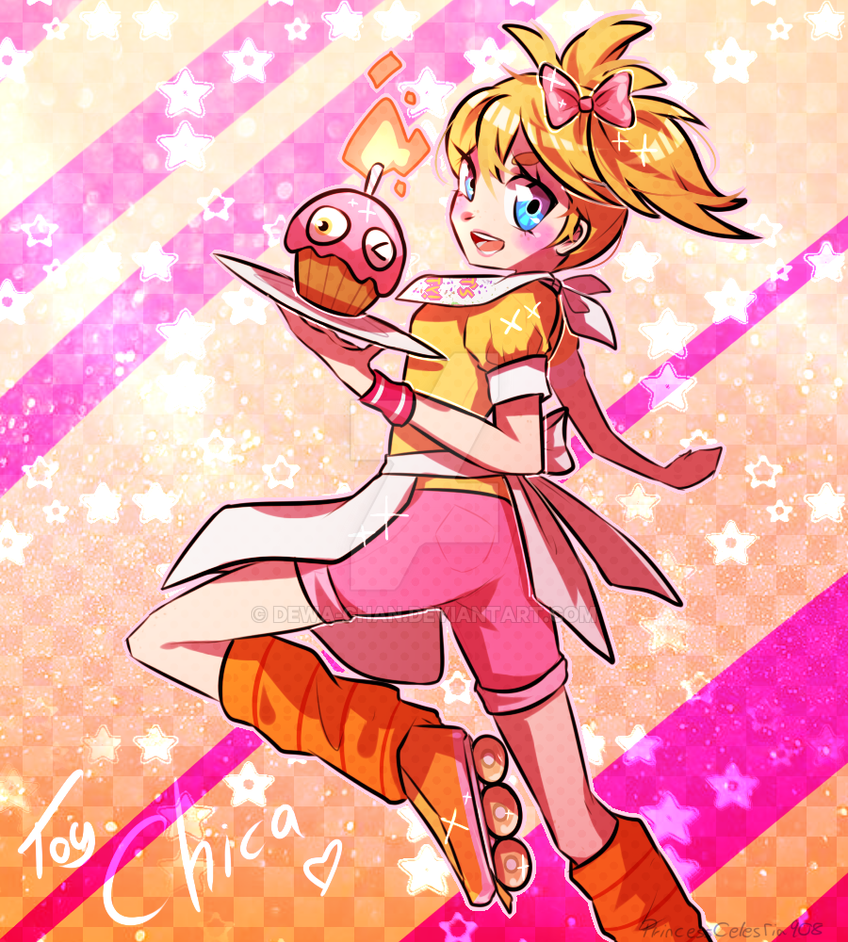 FNAF2 - Human!Toy Chica by PrincessCelestia908