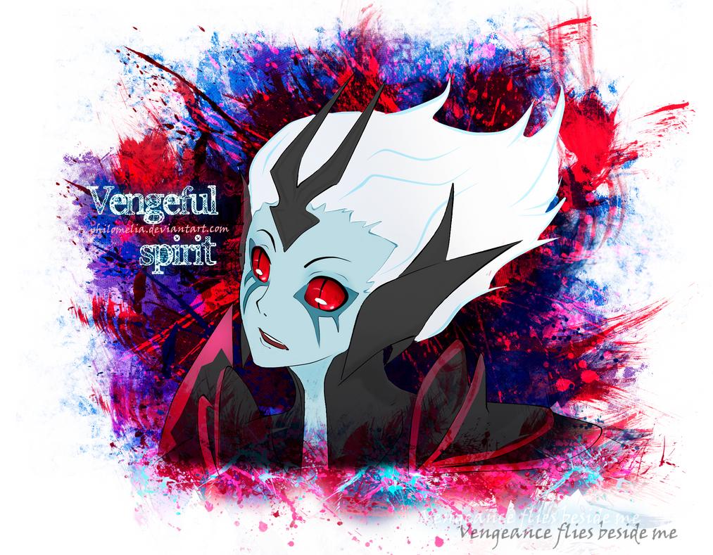 Vengeful Spirit Dota 2 by Philomelia on DeviantArt  Vengeful