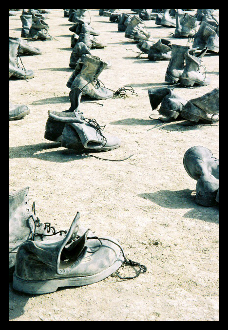 Warriors' Shoes by Gealach