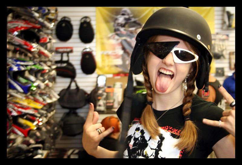 Biker Chick by Gealach