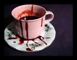 Vampire Tea by Gealach